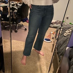 Madewell Jeans - Madewell Cali-Demi boot jeans size 28